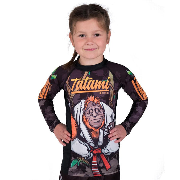 Kids Hang Loose Orangutang Rash Guard