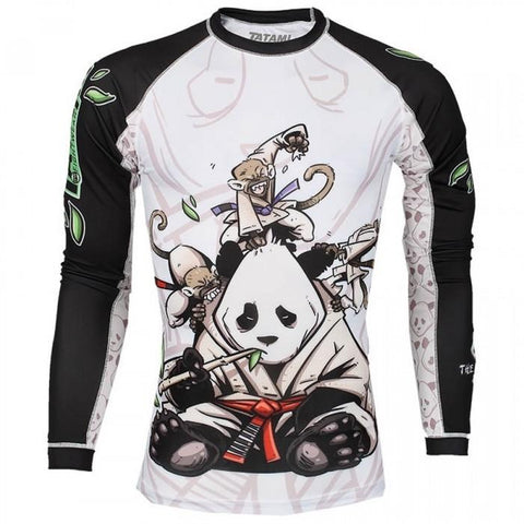Gentle Panda Rash Guard