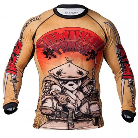 Samurai Panda Rash Guard