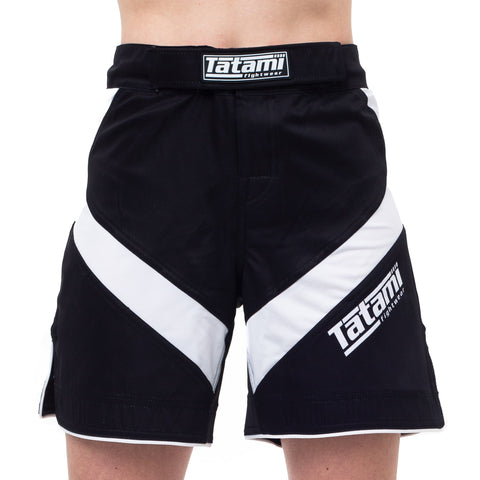 Ladies IBJJF 2020 Ranked Dynamic Fit shorts - White