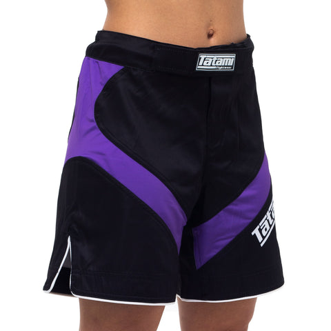Ladies IBJJF 2020 Ranked Dynamic Fit shorts - Purple