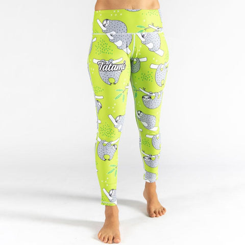 Ladies Sloth Print Print Leggings