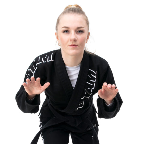 Ladies Shadow Gi - Black