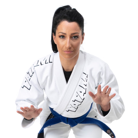 Ladies Shadow Gi - White