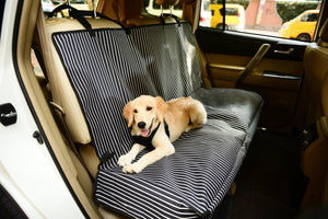 Pet Life Open Road Mess-Free Back Seat Cover