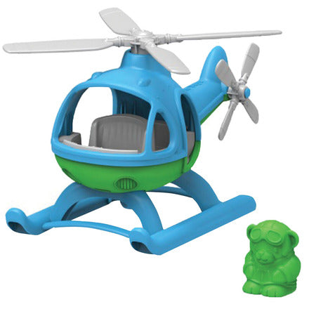 Bigjigs Green Toys Helicopter (Blue)