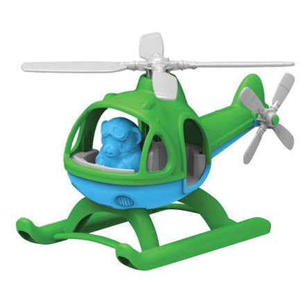 Bigjigs Green Toys Helicopter (Green)