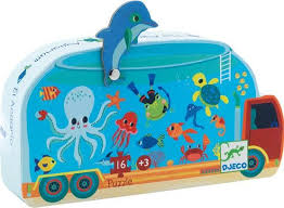 Djeco Puzzle The Aquarium