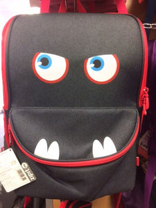 Zipit Monster Schoolbag Black