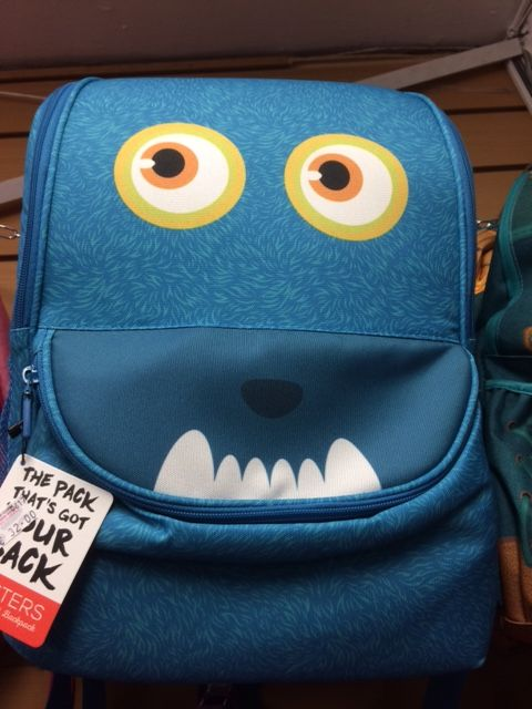 Zipit Monster Schoolbag Blue