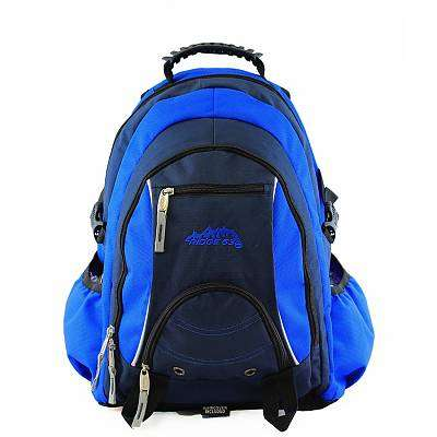 Ridge 53 Schoolbag Navy and Blue
