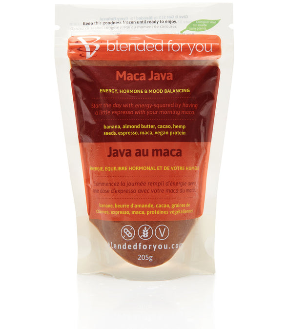 Blended For You Frozen Smoothie Blend - Maca Java