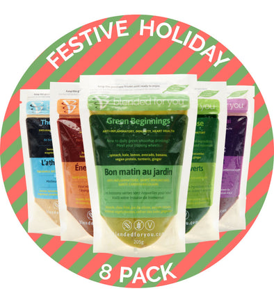 Festive Holiday 8-Pack