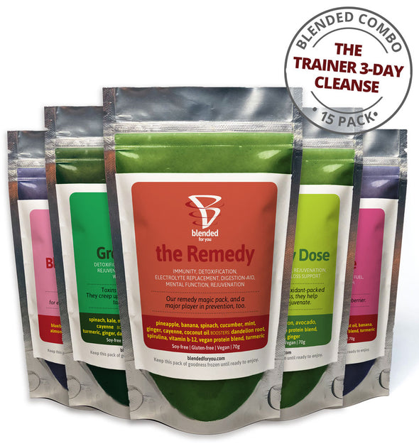 The Trainer Cleanse 3-Day Plan (15-pack of smoothies)