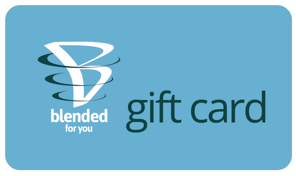 Blended For You Gift Card