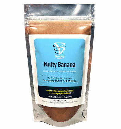 Nutty Banana Smoothie Pack