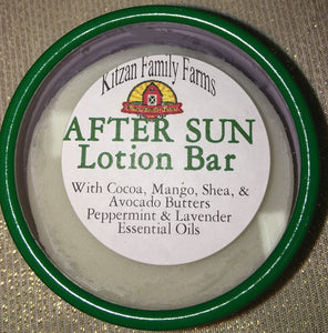 After Sun and Wind Natural Lotion Bars