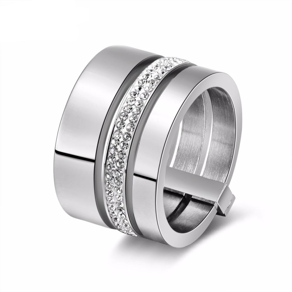 plated csvimages ring fashion for women exquisite stainless men rings gold steel