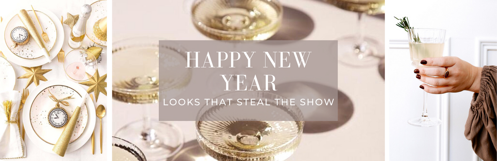 HAPPY NEW YEAR! LOOKS THAT STEAL THE SHOW
