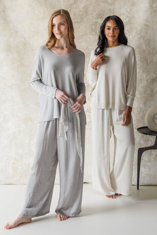 Dolce Collection Silk Pants and Lounge Tops