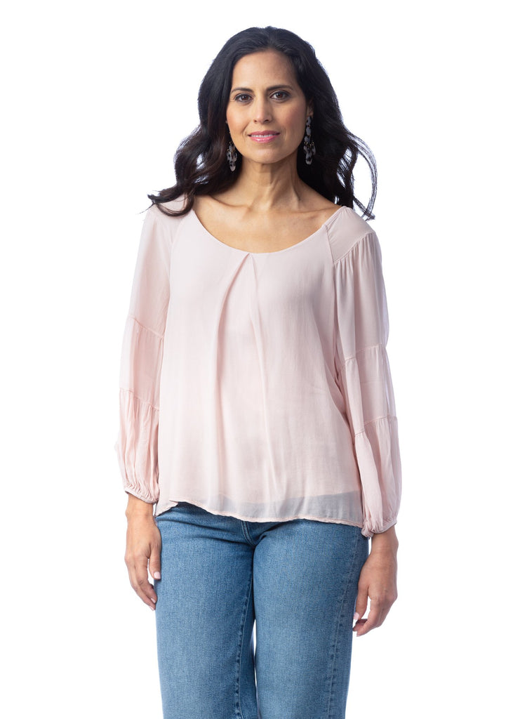Adeline Scoop Neck Blouse