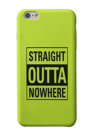 Straight Outta Nowhere Phone Case - Mad Monkey