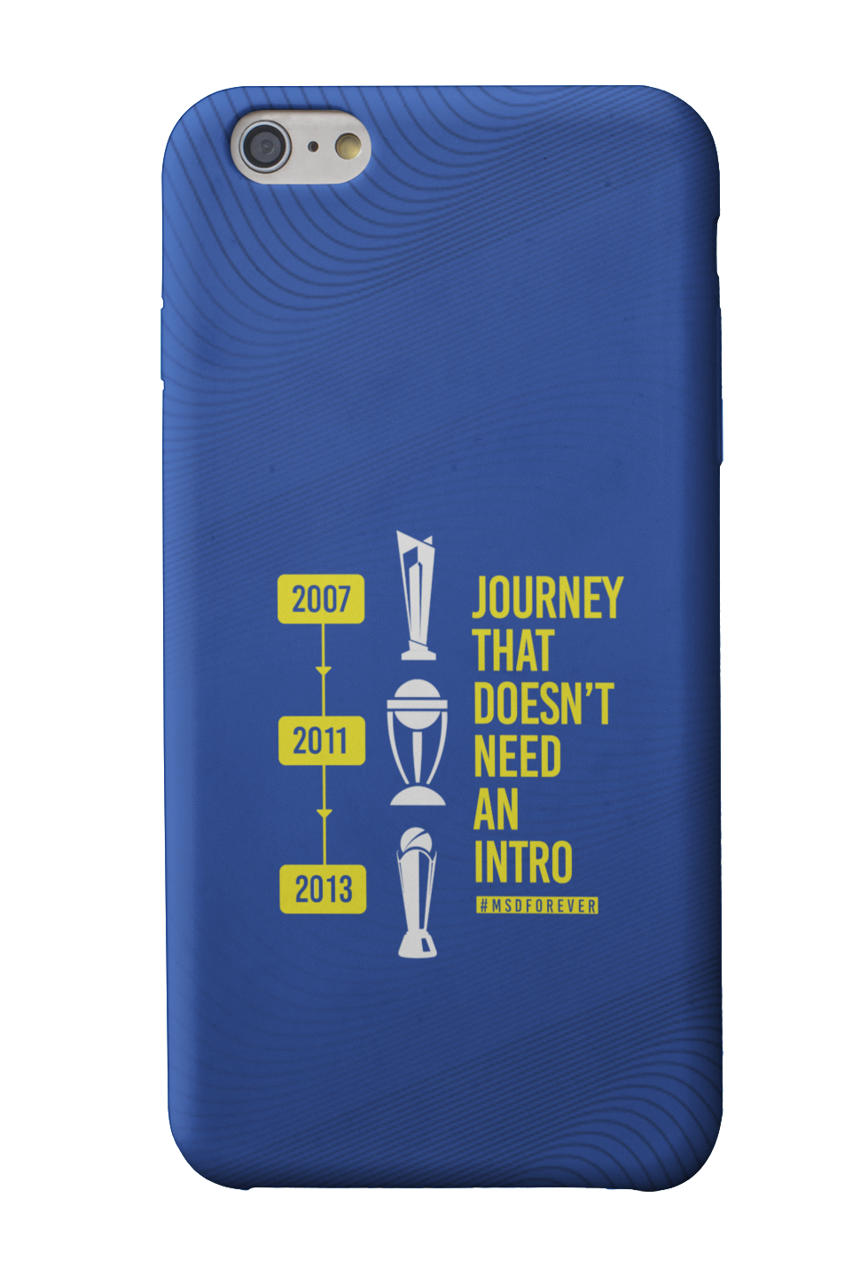 MS Dhoni Journey Phone Case - Mad Monkey