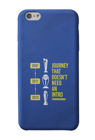 MS Dhoni Journey Phone Case