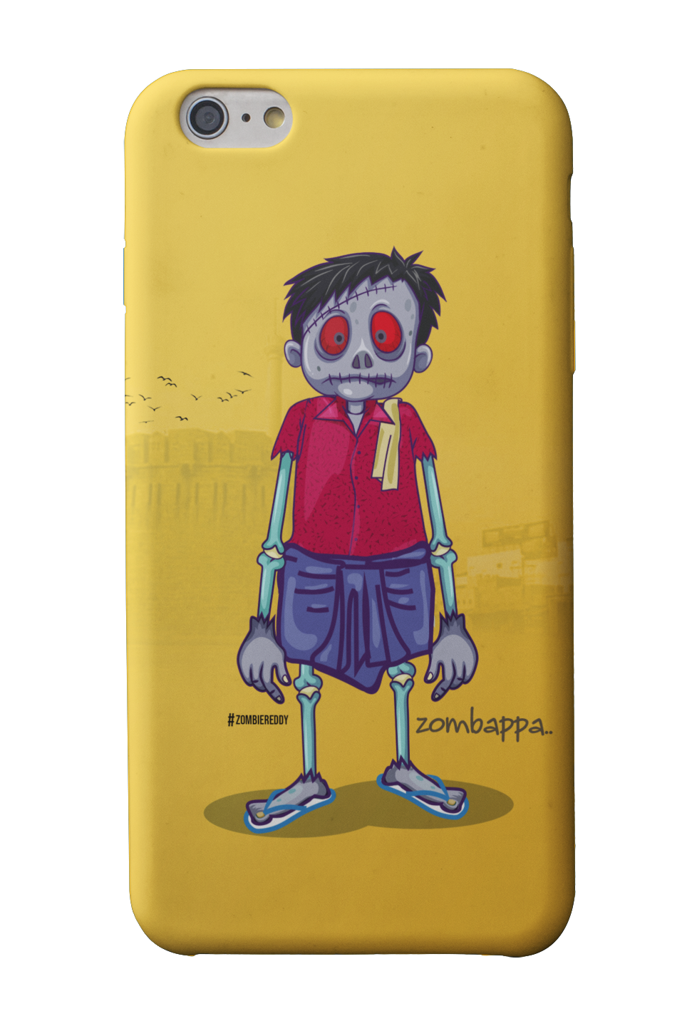 Zombappa Phone Case - Mad Monkey