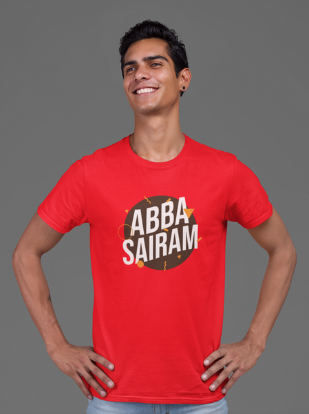 Abba Sairam Unisex T-shirt - Mad Monkey