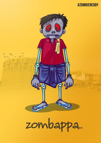 Zombappa Poster - Mad Monkey
