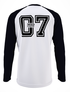 MS Dhoni Raglan Unisex T-Shirt - Mad Monkey