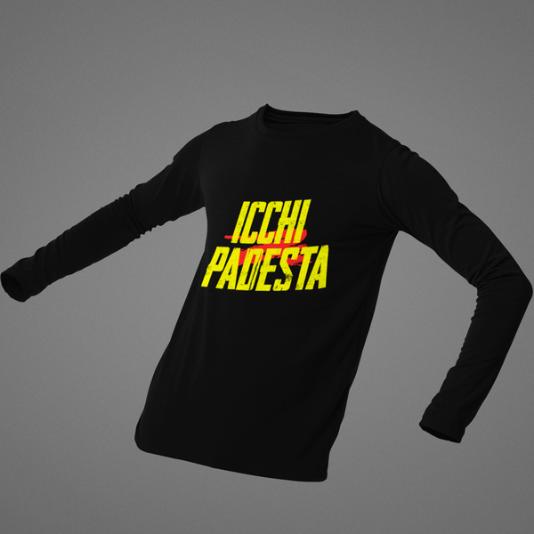Icchi Padestha Full Sleeves T-shirt - ateedude