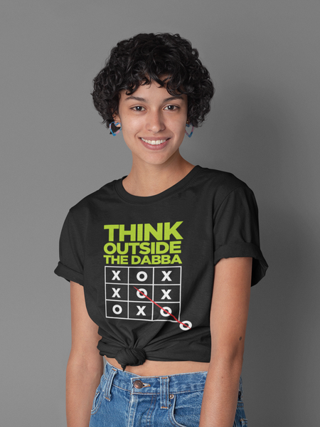 Think Outside the Dabba Unisex T-shirt - ateedude