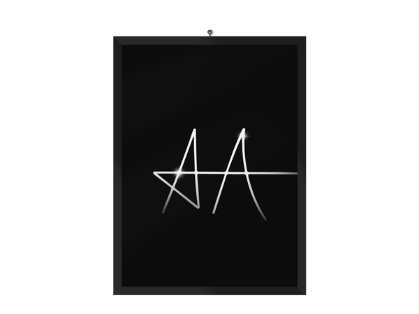 AA sign Poster