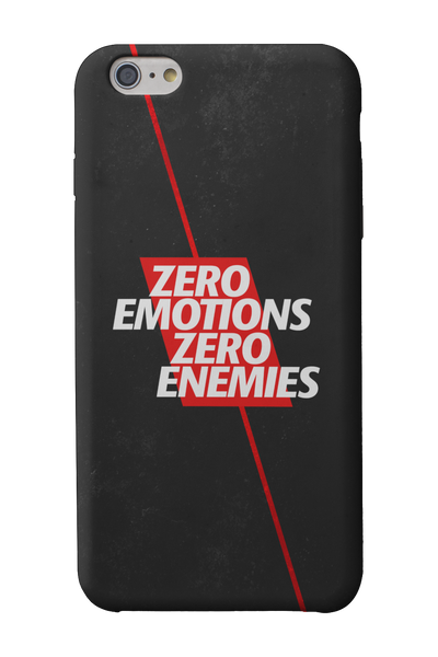 Zero Emotions Zero Enemies Mobile Cases - ateedude