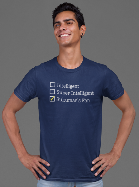 Sukumar - Intelligent Super Intelligent Sukumar's Fan Unisex T-shirt - ateedude