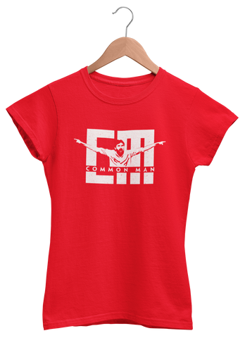 CM - Common Man - Women Tee - ateedude