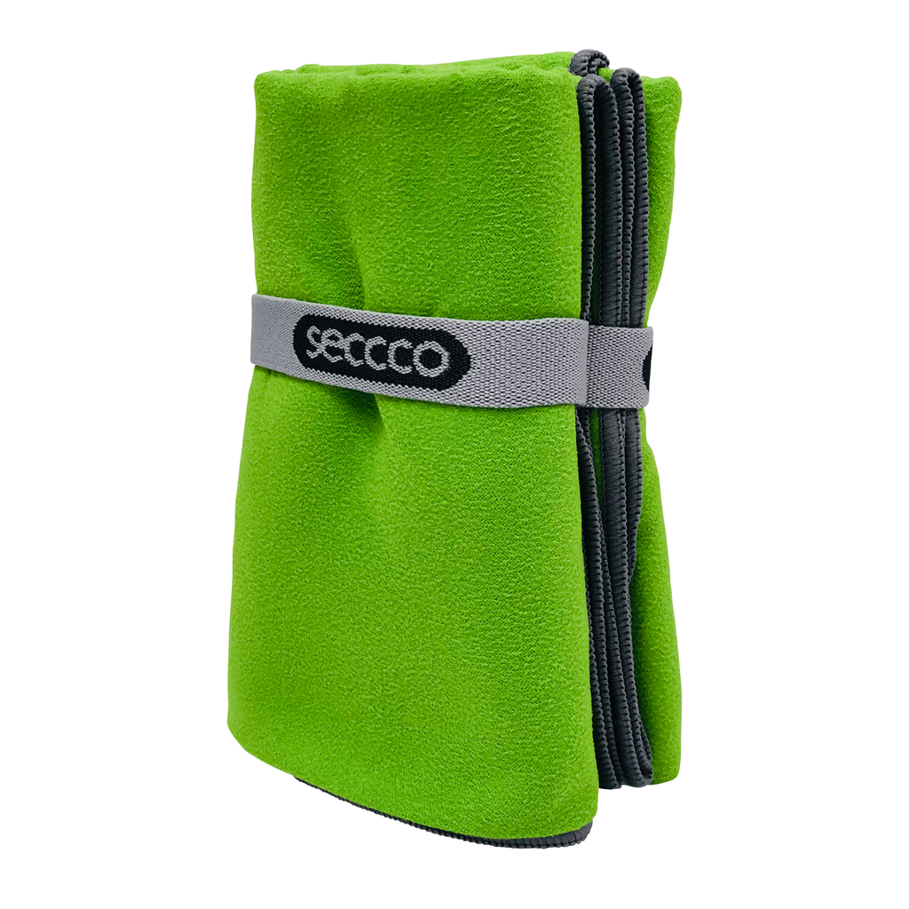 SECCCO Towel - Green Parrot
