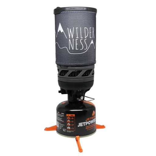 Jetboil Flash Wilderness Retkikeitinsarja, Musta 1L
