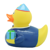Blue Happy Birthday Duck