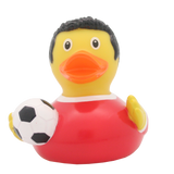 Red Football Player Duck