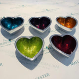 Mini Recycled Aluminium Heart Dish