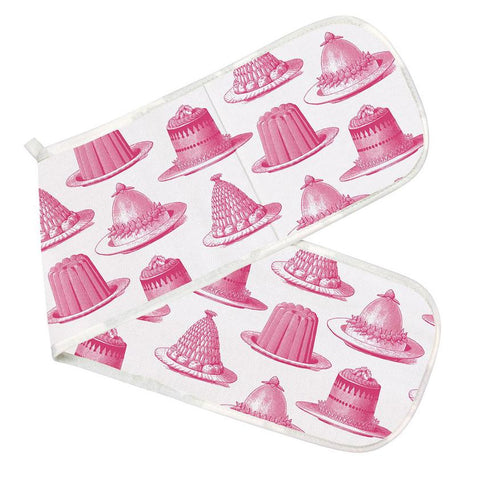 Pink Jelly & Cake Oven Glove - Thornback & Peel