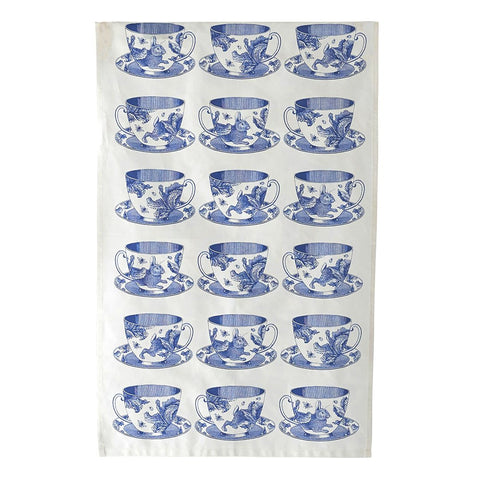 Teacup Tea Towel - Thornback & Peel