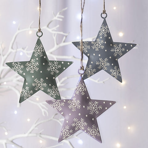 Metal Hanging Star