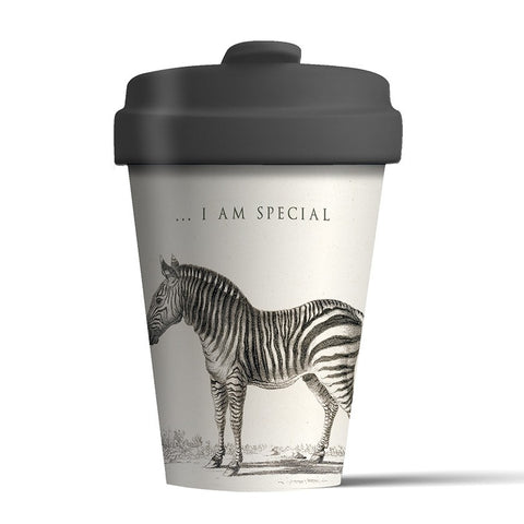 SPECIAL ZEBRA - Bamboo Flask
