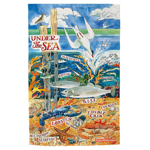 Emma Bridgewater Under The Sea Tea Towel