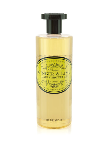 Naturally European Ginger & Lime Shower Gel
