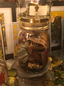 Spiritual Jar Burning